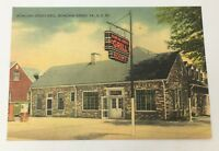 Old Vintage 1940s Bowling Green Grill Virginia Post Card Along Highway 301