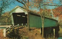 Postcard Covered Bridge Indiana