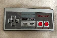 Large Metal Nintendo Controller Belt Buckle