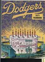 1971 Los Angeles Dodgers Yearbook MBX10