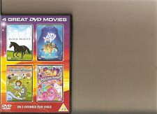WATER BABIES / MY LITTLE PONY THE MOVIE / BLACK BEAUTY / HELP I'M A FISH DVD