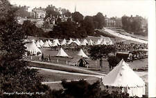 Tunbridge Wells. Military Camp by H. Camburn in Wells Series. Tents.