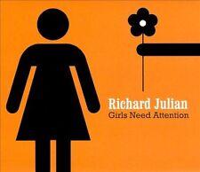 Girls Need Attention [Slipcase] * by Richard Julian (CD, May-2010, Compass (USA)