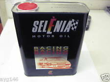 "SELENIA ""RACING"" ENGINE OIL 10W/60 FIAT ALFA ROMEO 2LTR"