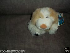 NEW PLUSH DOLL FIGURE CHILDREN'S BOOK CHARACTER TOY BEANBAG FUZZLINS DELILA DOG