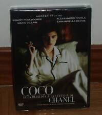 COCO CHANEL DVD NUEVO PRECINTADO BIOGRAFICO DRAMA AUDREY TAUTOU (SIN ABRIR) R2