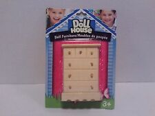 "Wooden Dollhouse Furniture - ""Chest"" Girls Pretend Play Doll Toy Game Arts/Craft"