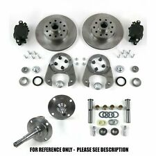 28-48 Early Ford Model A Car Pickup Front Disc Brake Conversion Kit 5x4.5 Rat Ro