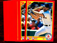 1990 Score #245 WADE BOGGS ~ 20 CARDS LOT ~ HOF A HALL OF FAME INDUCTEE