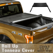 Roll Up Lock Soft Tonneau Cover 2005-2018 Toyota Tacoma 5 Feet Bed Black Friday