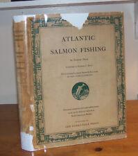 Atlantic Salmon Fishing. Phair. 1937. 1st ed. Derrydale Press. Dustjacket.