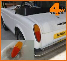 Replacement Rear Light Lenses to fit Tri-ang Rolls Royce Corniche Pedal Car