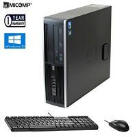 HP Windows 10 Desktop Computer PC Core 2 Duo 2.93Ghz CPU 4GB RAM 160GB HDD DVD