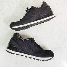 NEW BALANCE | Womens 574 Black Sneakers Shoes [ Size EUR 39 or US 8 / UK 6 ]