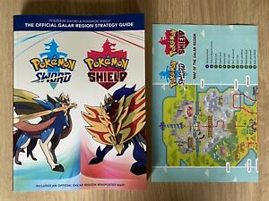 NINTENDO SWITCH POKEMON SWORD AND SHIELD STRATEGY GUIDE BOOK!