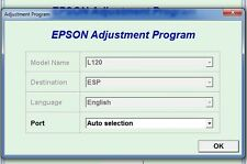 Reset Epson L120 Reset ink pads counter