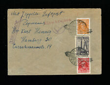 Zeppelin Sieger 85D Russia Flight Russia Registered Post Return Trip