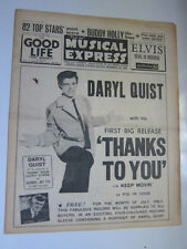 NME 7/5/63 Buddy Holly Adam Faith Searchers Gerry Pacemakers Daryl Quist