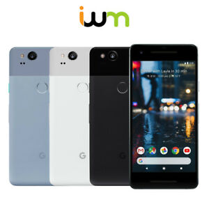 Google Pixel 2 64GB 128GB - Unlocked / Verizon - Black / White / Blue