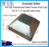 "Push On Steel Post Cap for Steel Post 4"" Square Pipe,Hot Dipped Galvanised-45900"