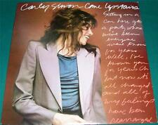 CARLY SIMON - Come Upstairs (LP, 1980) Very Good+