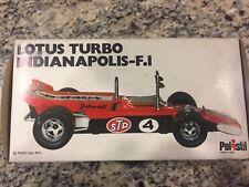 Rare RC Vintage Polistil FX6 Lotus Turbo Indianapolis F1 1/25 Scale Italy, 1974