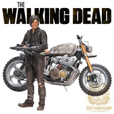 "McFarlane The Walking Dead TV 5"" Series - DARYL DIXON & NEW BIKE Deluxe Box Set"