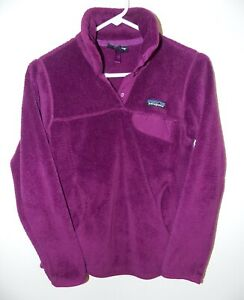 Women's Patagonia Re-Tool Snap-T® Fleece Pullover X-Small Purple