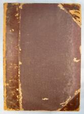 Scribners Monthly Antique Book May To October 1875 Illustrated Magazine O AS IS