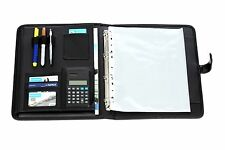 A4 Conference Folder Portfolio Ring Binder Magnetic Closure Comes with Free Pen