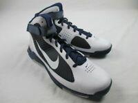 NEW Nike Hypermax TB - White/Navy Basketball Shoes (Men's 16)