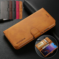 For Google Pixel 3a XL 3a Magnetic Leather Case Wallet Card Holder Stand Cover
