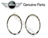For Cooper Clubman F54 Pair Set of Left & Right Headlight Trim Rings Genuine