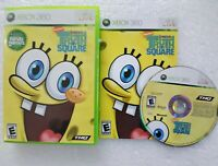 Spongebob Squarepants Truth or Square (Microsoft Xbox 360) Complete