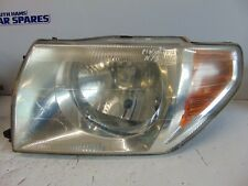 Mitsubishi Shogun Pinin 99-05 headlight passengers left front light Silver liner