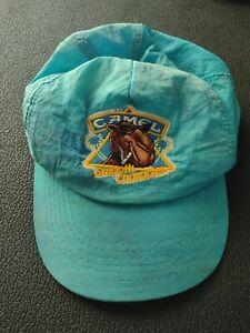 VTG Distressed Camel Joe Cigarettes Smooth Character Trucker Hat Cap Snapback 90