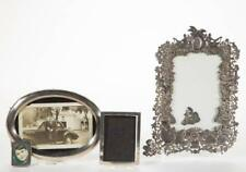 Assorted Sterling Silver Picture Frames, Lot Of Four Lot 1629
