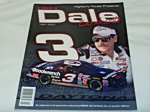 Highbury House Presents a Tribute To Dale Earnhardt 1951 - 2001 Magazine Book