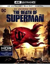 THE DEATH OF SUPERMAN  (4K Ultra HD + Blu-ray + DIGITAL) *NEW w/slipcover*