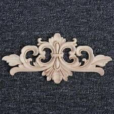 Wood Onlay Applique Wooden Woodcarving Decal Furniture Carving Home Decoration