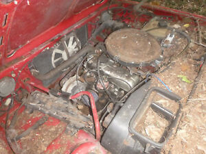 1989 volvo 340 1.4 automatic engine gearbox