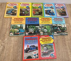 11 Vintage Thomas the Tank Engine & Friends Ladybird books 1980s Series 848