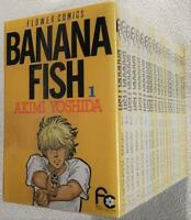 BANANA FISH vol. 1 - 19 Set Manga Comic Akimi Yoshida Japanese Language Complete
