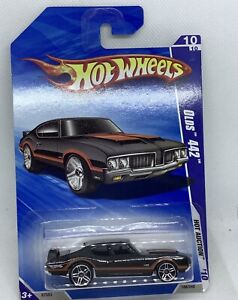 HOT WHEELS BLACK OLDS 442 HOT AUCTION 10 OF 10