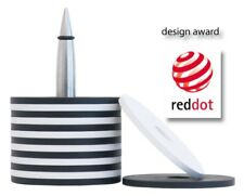 Glasuntersetzer Salute Edelstahl Silikon Artikel-design