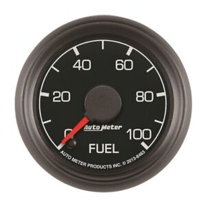 Autometer Factory Match 52.4mm 0-100 PSI Fuel Pressure Gauge For 99-07 F250 F350