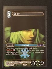 Final Fantasy TCG: Opus 1 - Snow 1-194S - Foil Structure Card - Ice