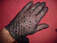 vintage gants  femme dentelle taille unique sexy soirée   NOS gloves