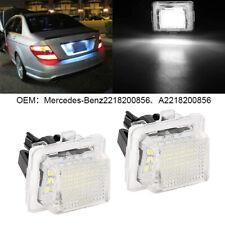 Fits Mercedes-Benz S-Class W140 1993-1998 H7 100W COB LED Bulbs Pair Canbus