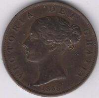 1858/6 Victoria Halfpenny | British Coins | Pennies2Pounds